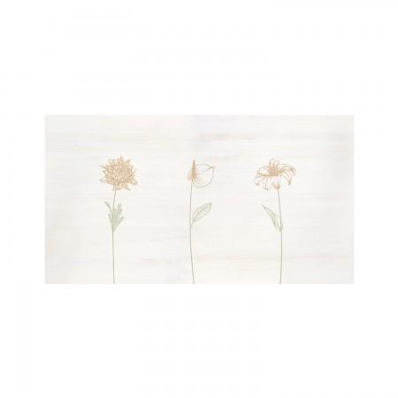 Cabecero decapado 'Flores verticales'