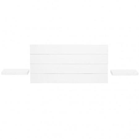 Pack de Cabecero horizontal y mesitas Hak blanco