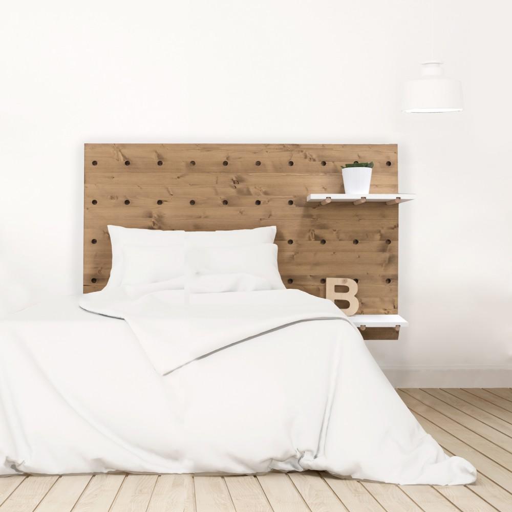 Cabecero n rdico de madera venta de todo tipo de for Listones de madera para palets