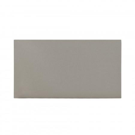 Cabecero algodón stone gris