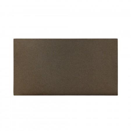 Cabecero algodón stone marrón