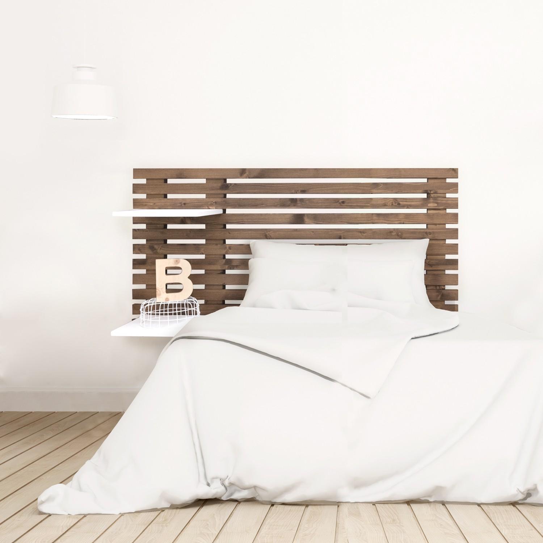 Cabecero blanco ikea top habitacin de la nia cama ikea for Cabecero madera