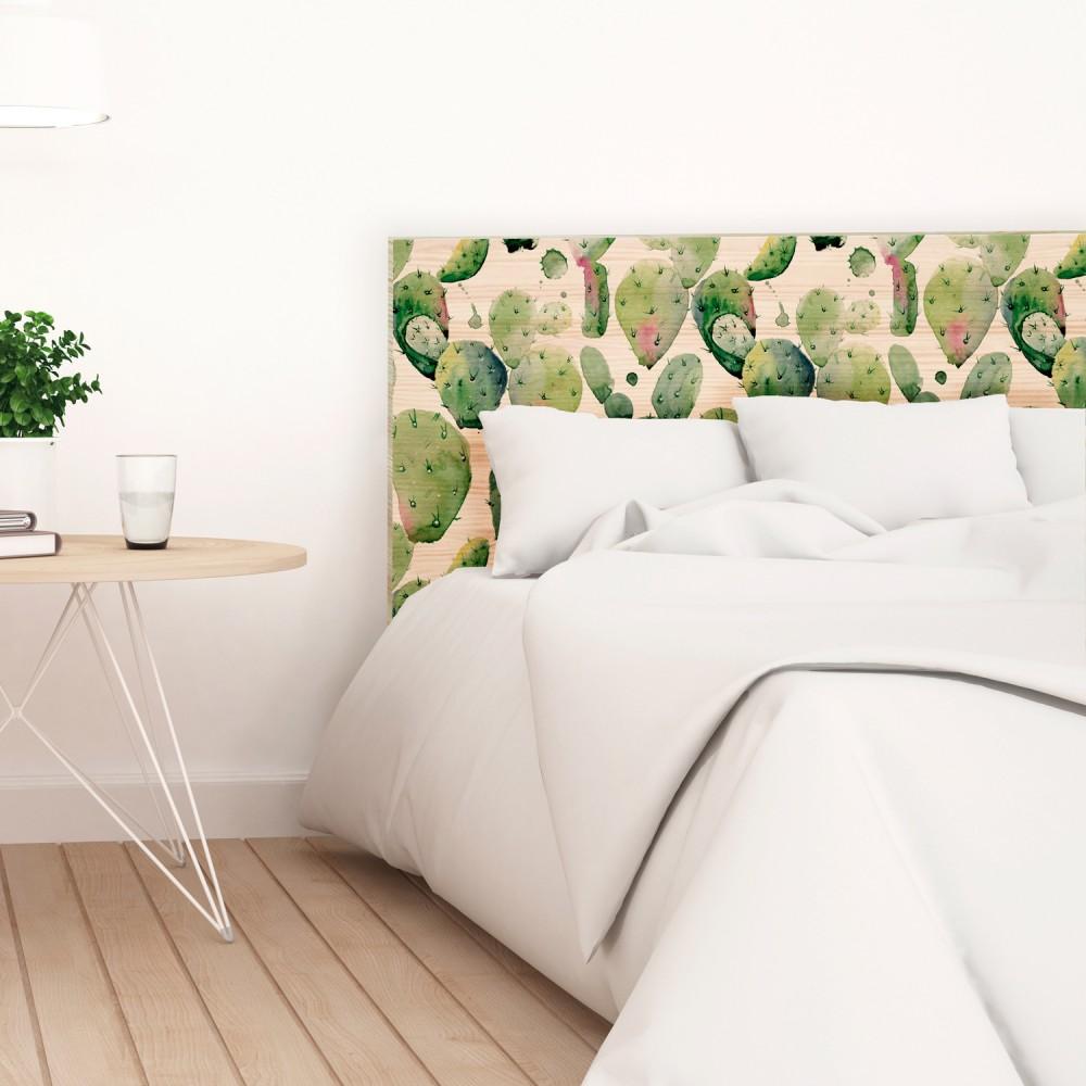 Cabecero madera cactus venta de todo tipo de cabeceros online - Cabeceros en madera ...