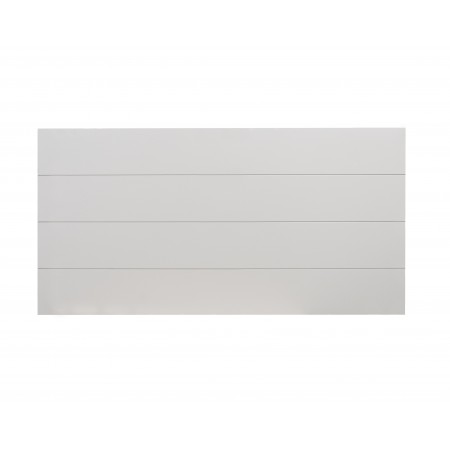 Cabecero madera gris claro