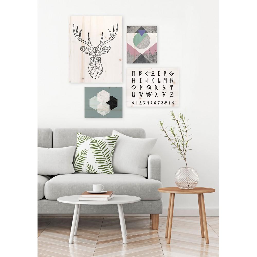 Pack de cuadros con motivos n rdicos for Cuadros para decoracion nordica