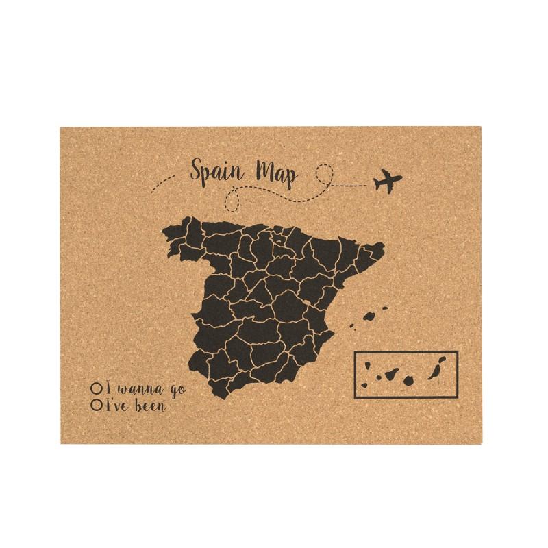 Corcho mapa espa a negro venta de todo tipo de cabeceros de madera y accecesorios - Mapa de corcho ...