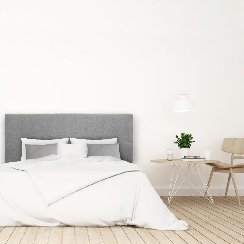 Pack tapizado liso gris Venta de todo tipo de cabeceros tapizados