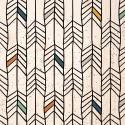 Cabecero rectangular flechas