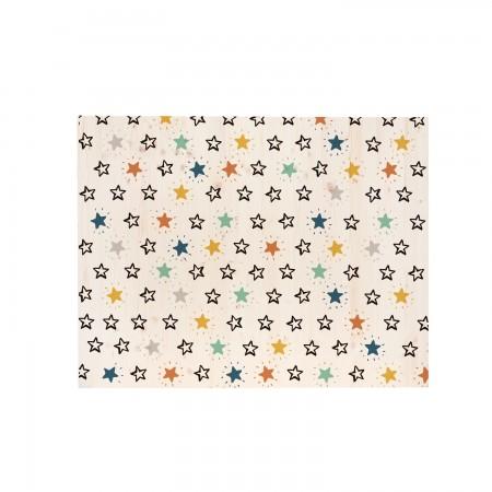Cabecero rectangular estrellas