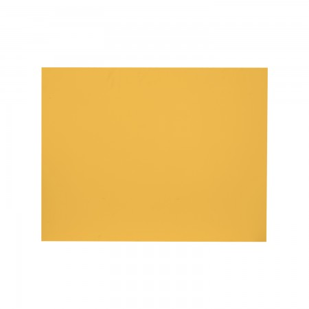 Cabecero rectangular amarillo