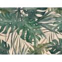 Cabecero natural 'Hojas de palma'