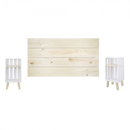Pack natural y blanco horizontal