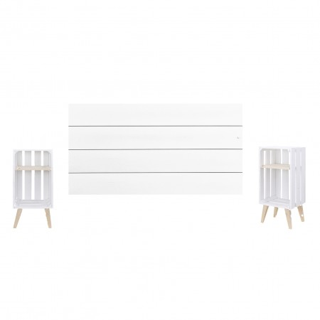 Pack blanco horizontal