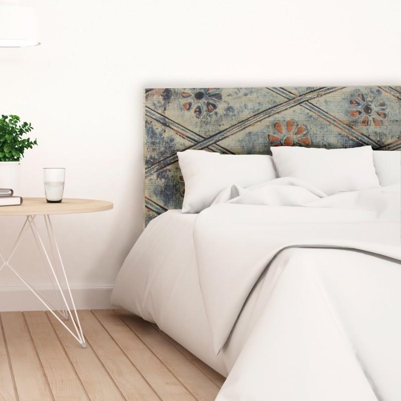 Cabeceros de tela hechos a mano cabecero de cama con - Cabeceros originales hechos a mano ...