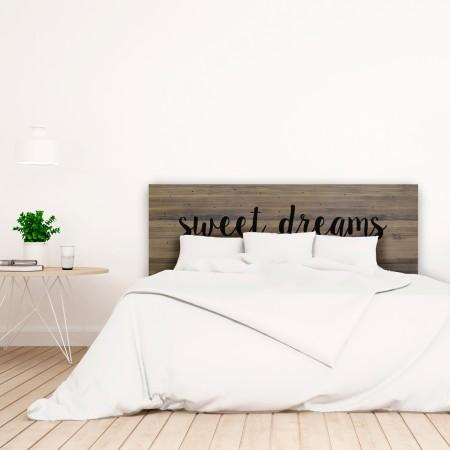 Cabecero envejecido sweet dreams