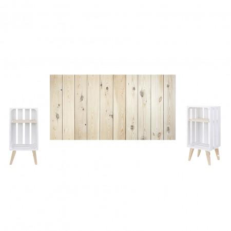 Pack natural y blanco vertical