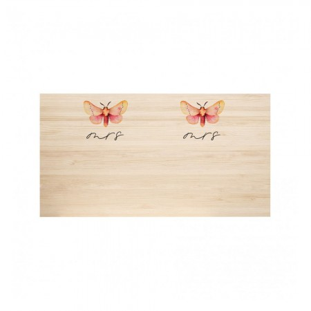 Cabecero de madera natural Butterfly & Butterfly