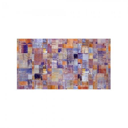 Cabecero decapado 'Pintura abstracta'