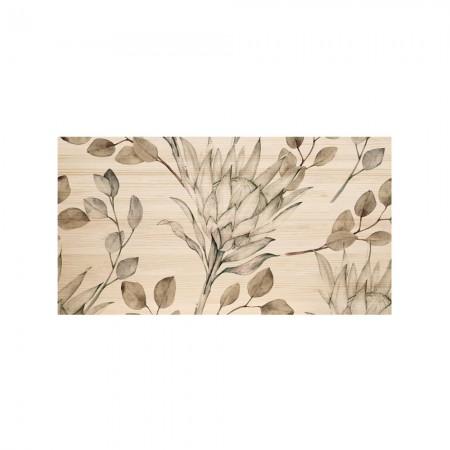 Cabecero natural 'Ramas Protea tonos pardos'