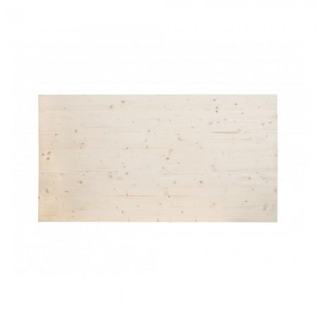 Cabecero de madera de abeto natural