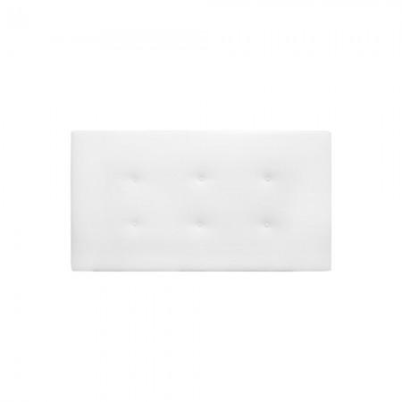 Cabecero Polipiel botones blanco