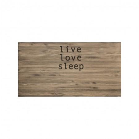 Cabecero envejecido live love sleep