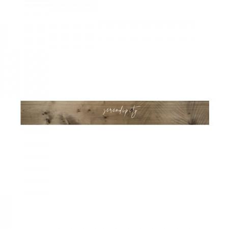 Cabecero de madera envejecido 'Serendipity tropical'