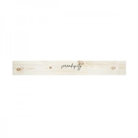 Cabecero de madera natural 'Serendipity'