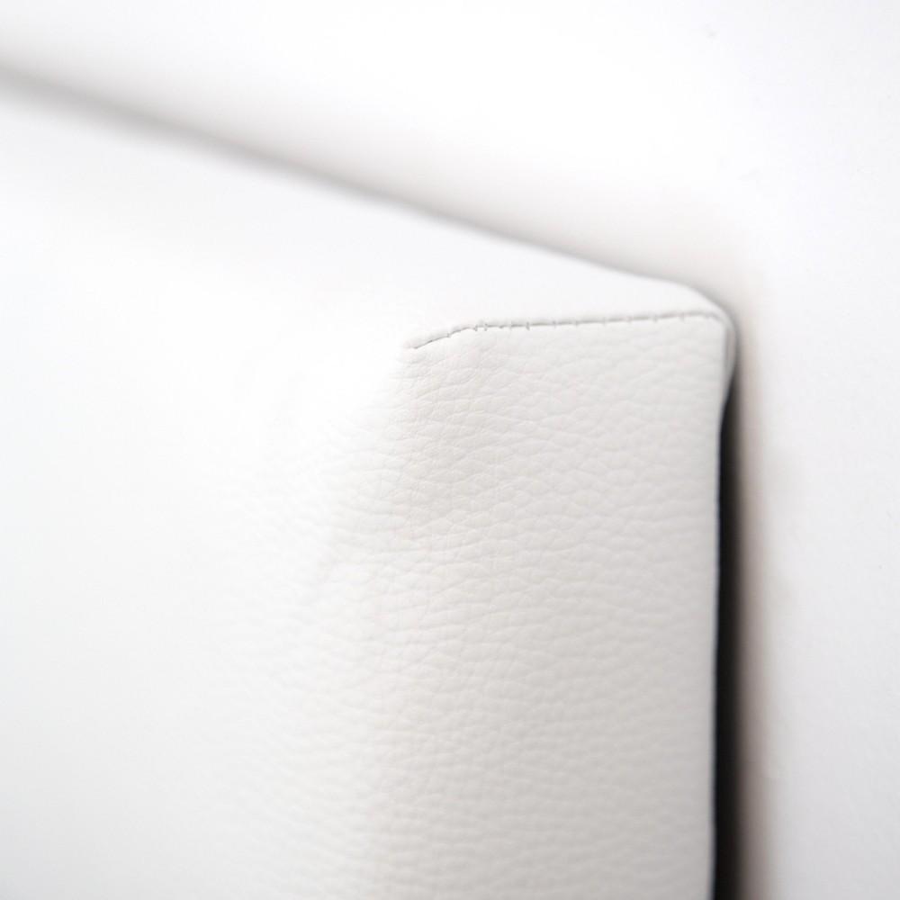 Cabecero polipiel botones blanco venta de todo tipo de - Cabeceros polipiel blanco ...