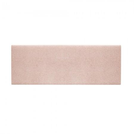 Cabecero tapizado Hoola liso rosa palo