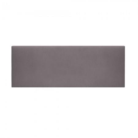 Cabecero tapizado Mimuk liso gris