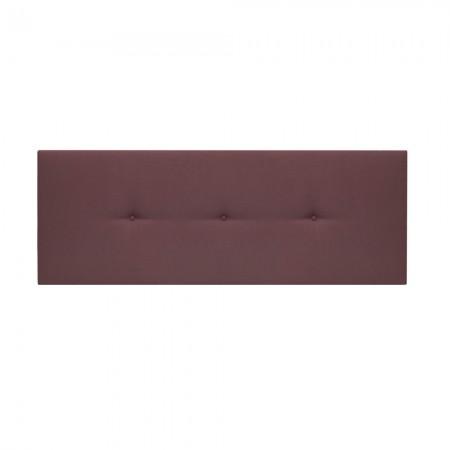 Cabecero tapizado Mimuk botones teja