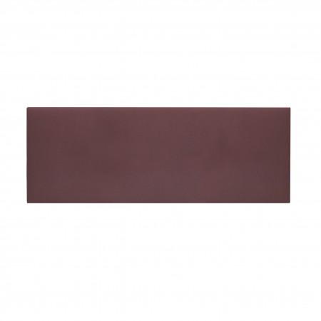 Cabecero tapizado Mimuk liso teja