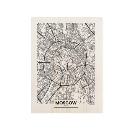Cuadro de madera Moscow