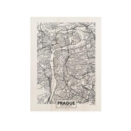 Cuadro de madera Prague