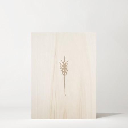 Cuadro de madera Spike