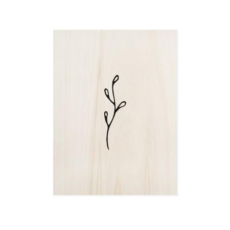 Cuadro de madera Grass