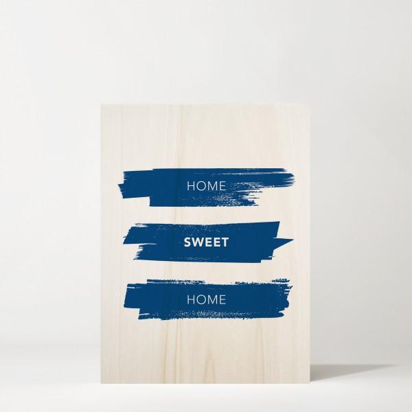Cuadro de madera Home Sweet Home