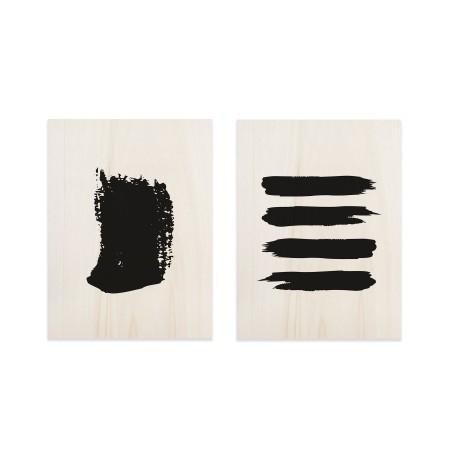 Pack de cuadros Abstract