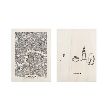 Pack de cuadros London