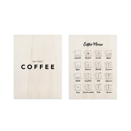 Pack de cuadros Coffe