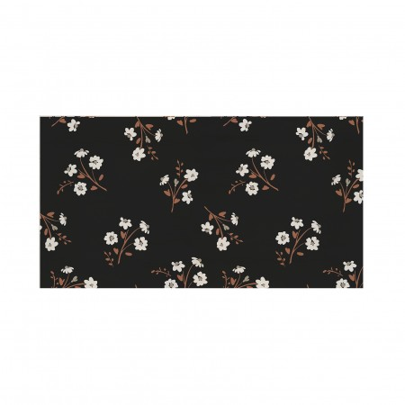 Cabecero decapado Flower black