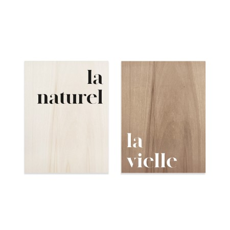 Pack de cuadros Naturel & Vielle