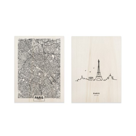 Pack de cuadros Paris