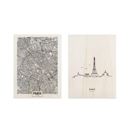 Pack de cuadros Paris
