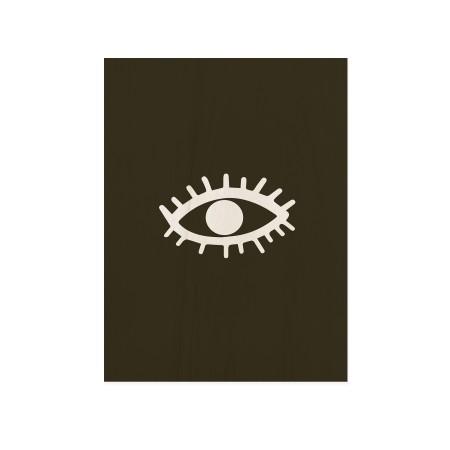 Cuadro de madera Eye