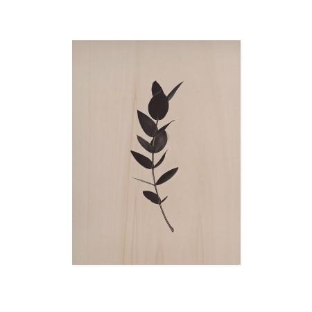 Cuadro de madera Green Plant