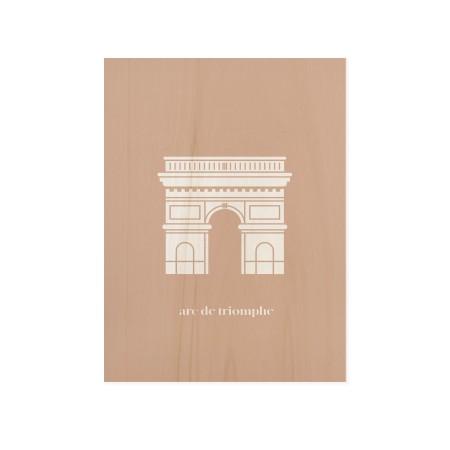 Cuadro de madera Arc Triomphe