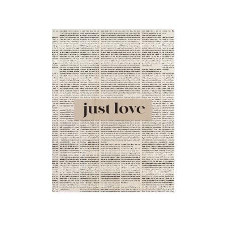 Cuadro de madera Just Love