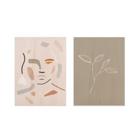 Pack de cuadros Abstract Portrait